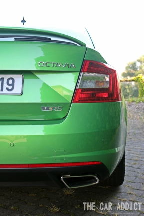 Skoda Octavia RS Exhaust