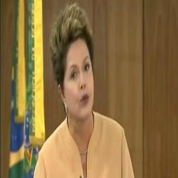 Dilma se Pronuncia em Rede Nacional - 21.06.2013