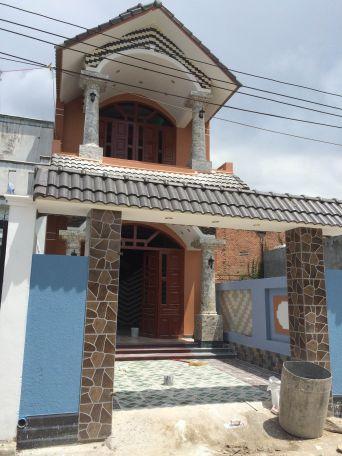 Hình ảnh căn nhà 1 lầu 1 trệt đang bán