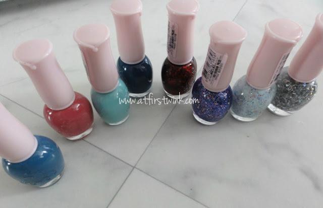 Etude House nail polishes