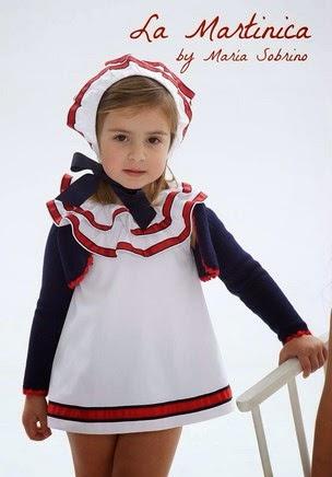 vestido marinero para niña La Martinica moda infantil