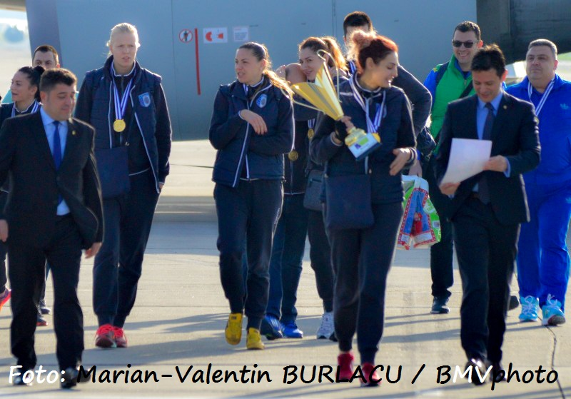 VOLEI / CHALLENGE CUP 2015/2016: CSM Bucuresti a adus acasa trofeul cucerit in Turcia (II)