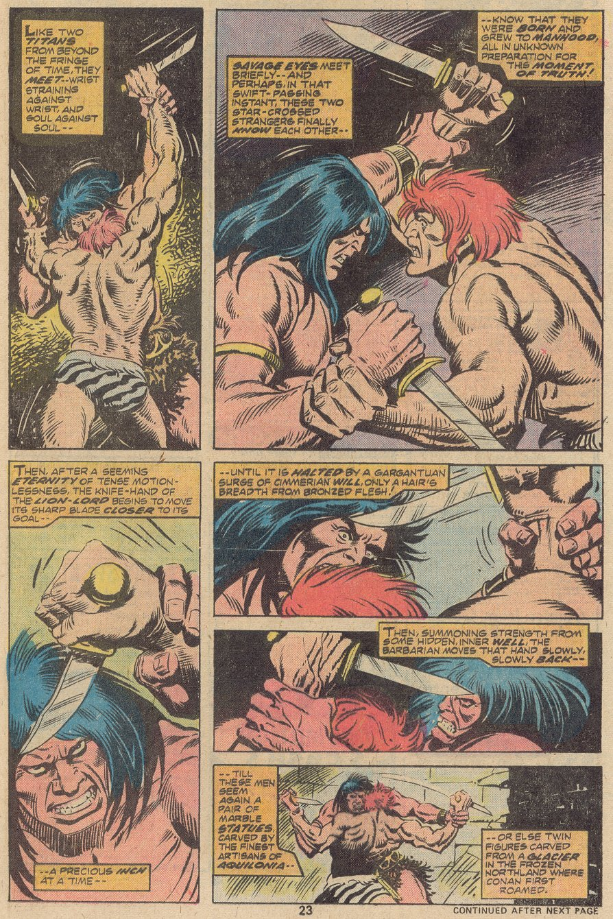 Conan the Barbarian (1970) Issue #63 #75 - English 16