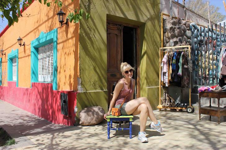 På plazaen i Mendoza