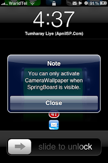 Use your camera as Wallpaper with Camera Wallpaper Camerawallpaper1