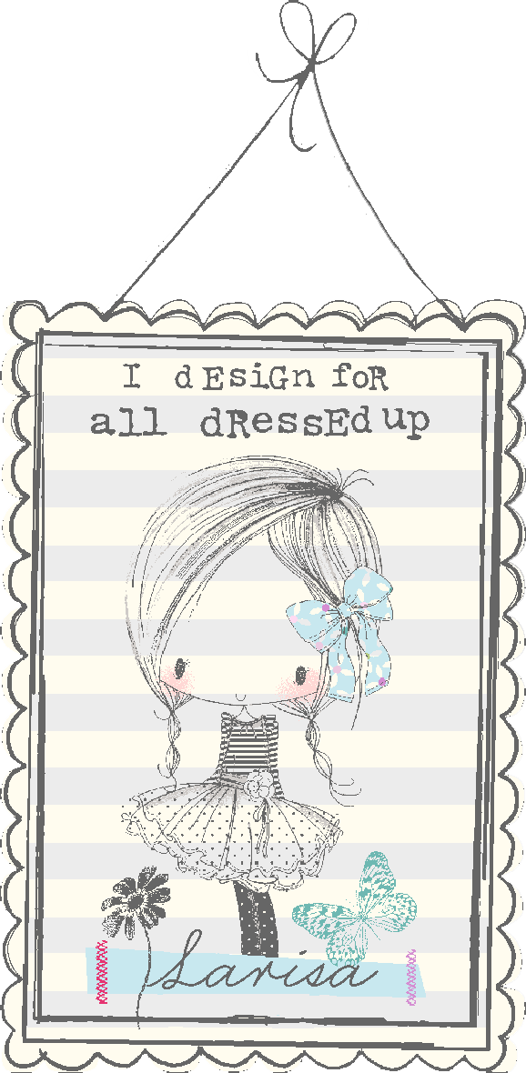 All Dressed Up Stamps