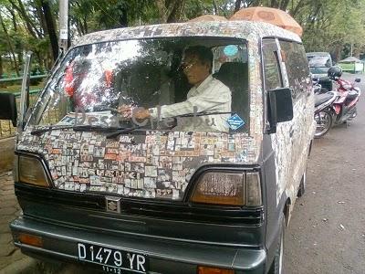 Mobil Perangko
