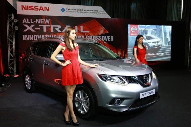 Nissan X Trail 2015 Dilancarkan Di Malaysia Bermula RM143 Ribu