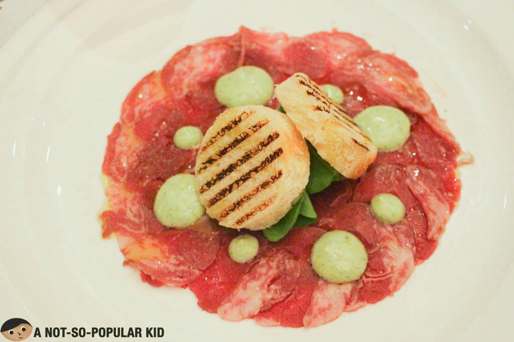 Palate-zapping appetizer - Certified Angus Beef Carpaccio
