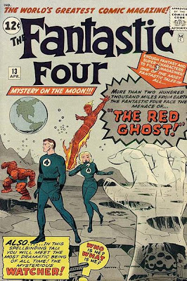 Fantastic Four #13, the Red Ghost, on the moon, Jack Kirby