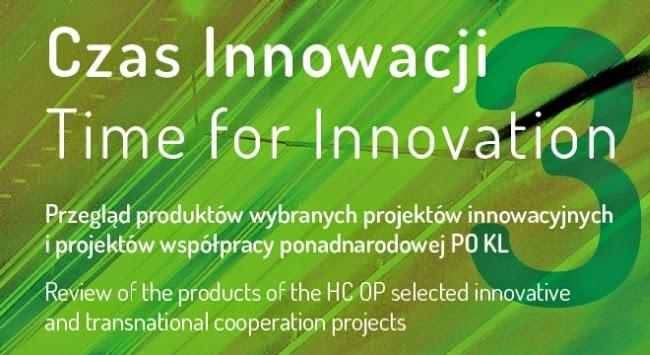 Fragment okładki publikacji Czas Innowacji 3