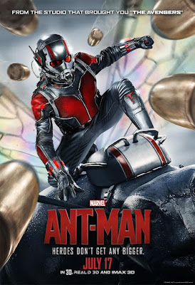 "Marvel's Ant-Man ""Heroes Don't Get Any Bigger"" Theatrical One Sheet Teaser Movie Poster"