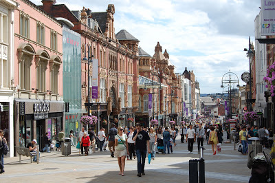 Leeds historical centr