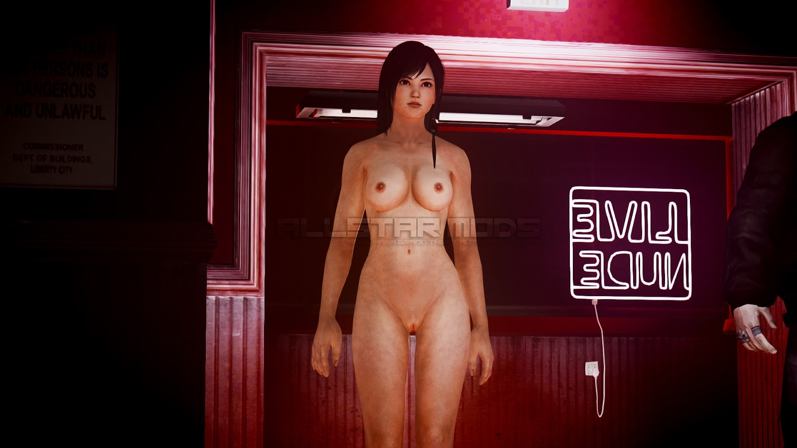 hot nude girl from gta iv