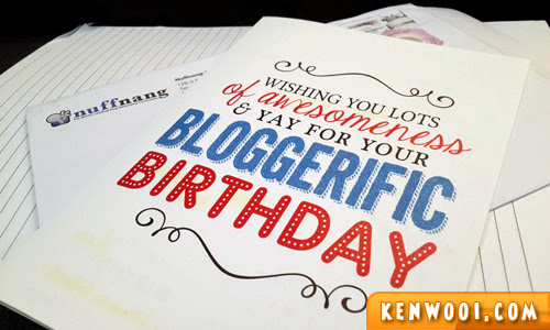 blogger birthday card