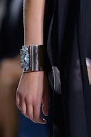 Метална гривна с камъни Dior пролет-лято 2013