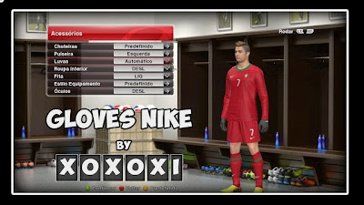 PES 2014 Nike Gloves by xoxoxi