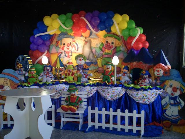 Decoração de festa infantil - Patatí e Patatá