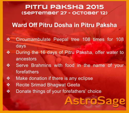 What is the real meaning of Pitru Paksha? What Pitru Dosha takes place?