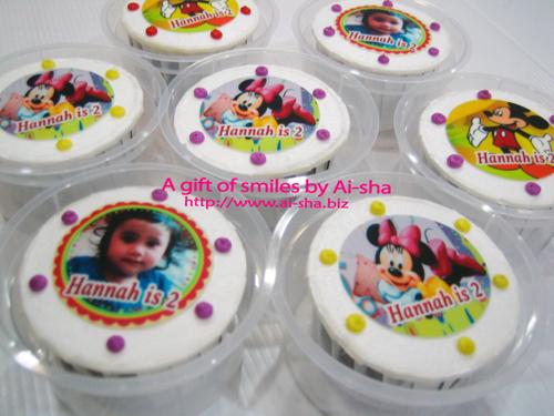 Birthday Cupcake Edible Image Ai-sha Puchong Jaya