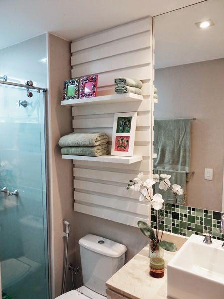 Casa  Decoração  Reciclados Banheiros Com detalhes Cheios de Estilo! -> Armario De Banheiro Feito Com Paletes