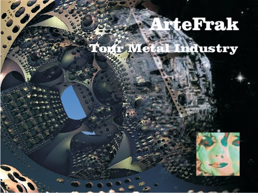 Video ArteFrak Mandelbulb. Tour Metal Industry