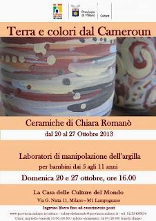 cosa fare coi bambini a Milano: laboratorio di manipolazione dell'argilla gratuito alla Casa delle Culture del Mondo