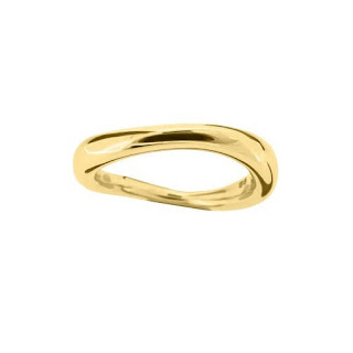 Dinny Hall 22ct Gold vermeil Wave Ring Jewellery Blog