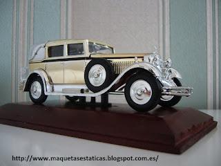 maqueta escala 1/43 de un Isotta Fraschini Tipo 8