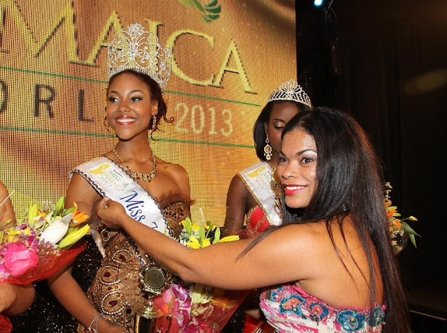 Miss Jamaica World 2013 winner Gina Hargitay