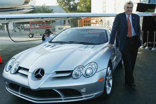 Mercedes SLR McLaren Jay Leno
