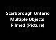 Southern Scarborough Ontario Multiple Objects Filmed (Picture)