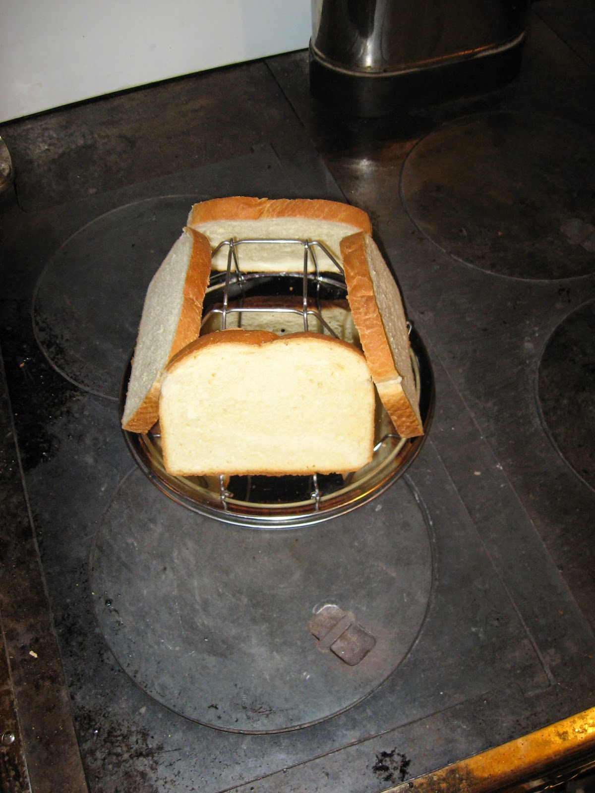 I Consider The Stovetop Toaster Method Quite Unsatisfactory For A  Woodburning Cookstove I Had Asked For This Toaster As A Christmas Gift  From My Inlaws