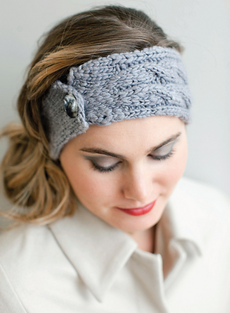 Knitted Headbands Pattern : Big Apple Headband Knitting App