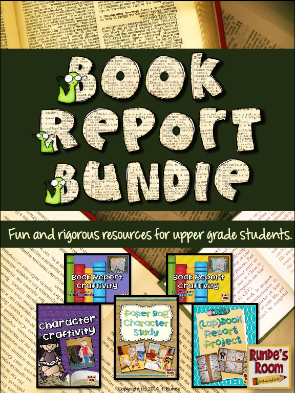 fun book reports for 2nd grade