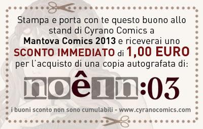 Buono sconto valido per l'acquisto di Noêin 03 a Mantova Comics