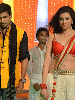 Hamsha Nandini Song Shooting for Loukyam movie-cover-photo