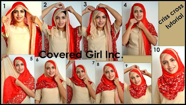 Hijab tutorial for wedding