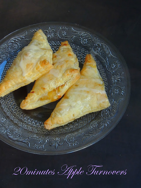 Flaky Apple Turnover, 20 minutes Apple Turnover