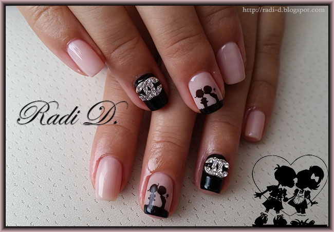 It`s all about nails: Kissing kids and Chanel nail jewel