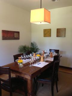 tasting room at franciscan