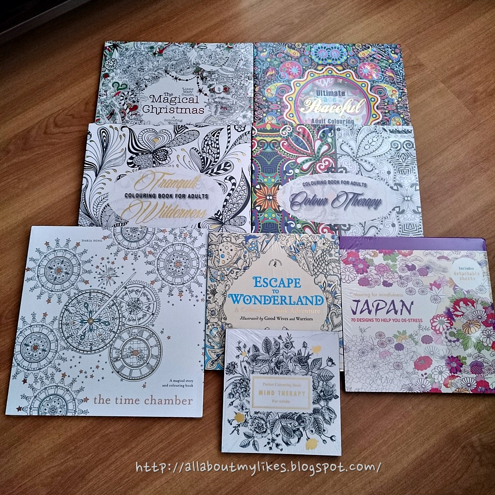 Coloring books to destress - Adult Coloring Book Tranquil Wilderness Colour Therapy The Time Chamber Escape To Wonderland Mind Therapy 70 Designs To Help You De Stress Japan