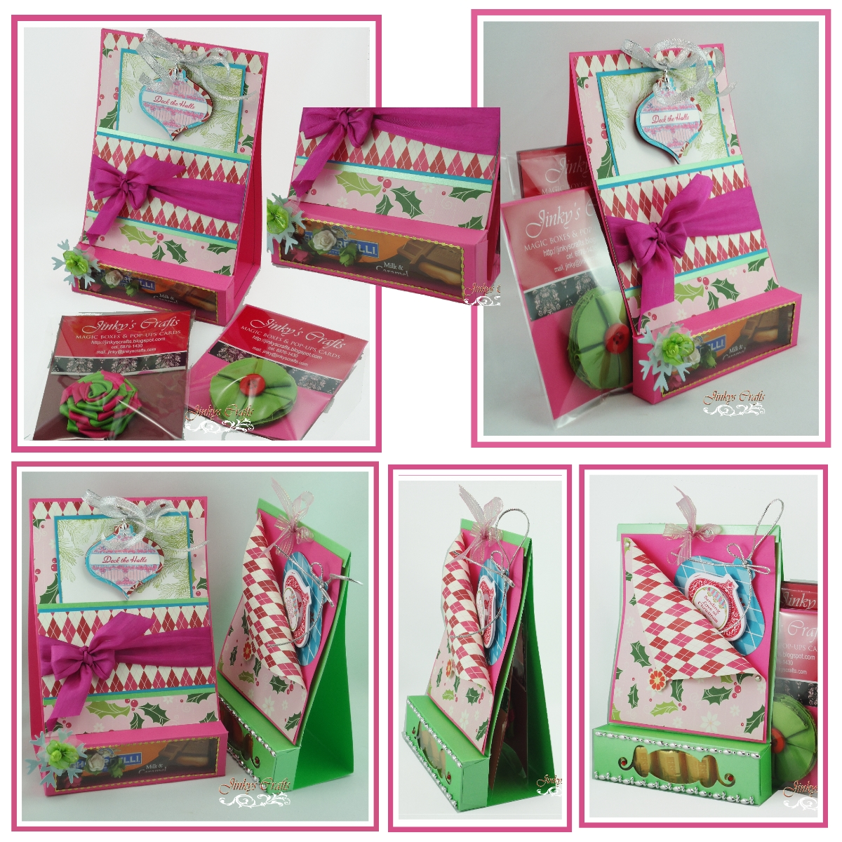 Christmas Card Boxes | Holliday Decorations