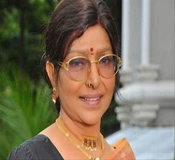 Actress Sarada Injured In A Road Accident