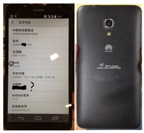 Prime immagini del nuovo Phablet Ascend Mate 2 di Huawei