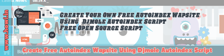 Create Free Autoindex Wapsite Using Djmole Autoindex Script