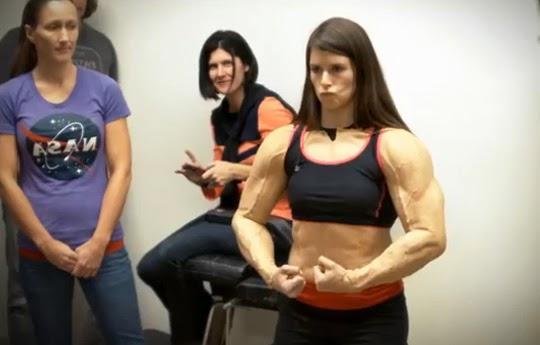 danica patrick muscle