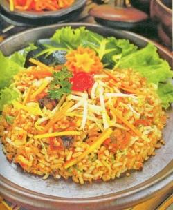 Resep Nasi Goreng Seafood Spesial Komplit