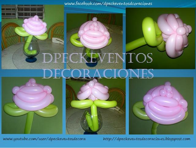 Fotos De Flores Hechas Con Globos - Globos, Flores y Fiestas