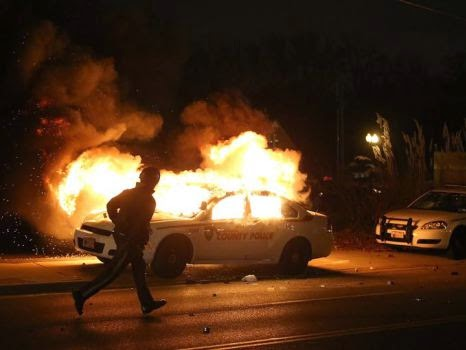 Protests Flare Across the Nation Following Non-Indictment of Police ...